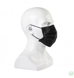 Zaštitne Maske za lice crne 50 komada
